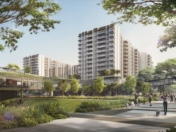 The Woodleigh Residences Integrated Mix Development Singapore