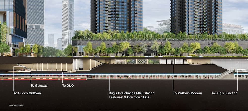 Midtown Modern fantastic connectivity with MRT and amenities