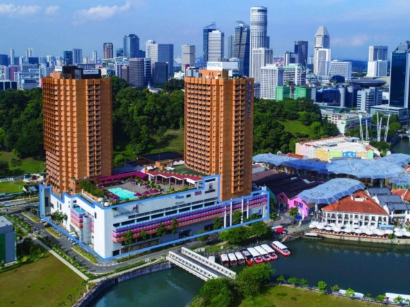 Canninghill Piers - Integrated Development at former Liang Court Site